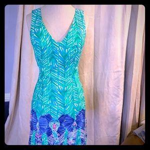Lilly Pulitzer sleeveless elephant shift dress 2